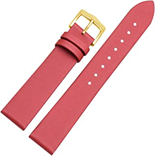 BONSTRAP Womens Leather Watch Band Strap Bracelet Replacement 10 12 14 16 18 20mm
