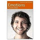Picture My Picture Sentimenti e Emozioni Flash Cards   Carte Linguaggio Inglese per Bambin...