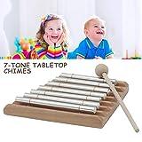 poetryer Percussion Chimes Bars Windspiel Glocke Musikinstrument Holzrahmen Solides Aluminiumrohr Für Kinder, Die Musik Und Musikalische Inspiration Entwickeln