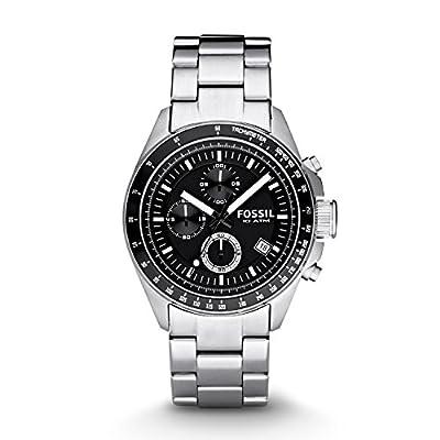 Fossil Herren Chronograph Quarz Uhr mit Edelstahl Armband CH2600IE zum Sonderpreis.