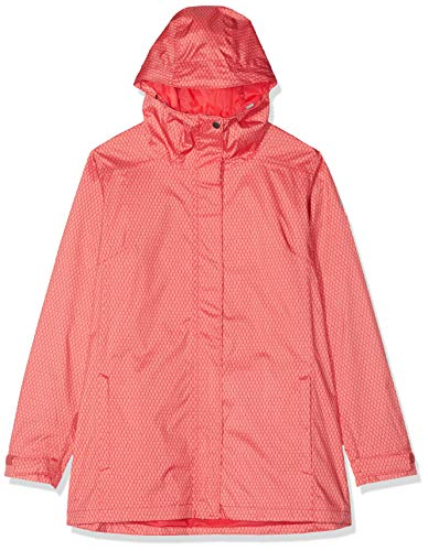 Columbia Splash A Little II Chaqueta para Lluvia, Mujer, Coral Rojo Mini, Small