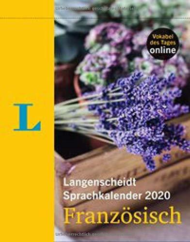 Langenscheidt Sprachkalender 2020 Französisch - Abreißkalender