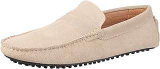 Elara Mocassins Homme Chaussures de Voile en Daim Chunkyrayan