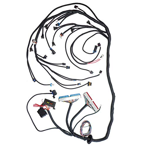 LS1 LSX Swap Standalone Wiring Harness with T56 or Non-Electric Mechanical Throttle Body for Drive By Cable LS1 Engines 1997-2006, Fit T56 TH400 TH350 700R4 200-4R Manual Transmission w/User Manual