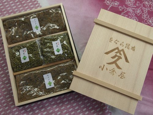 小倉屋昆布のチリメン山椒100g×2 青実山椒50g×2 贈答品・ギフト 詰め合わせ