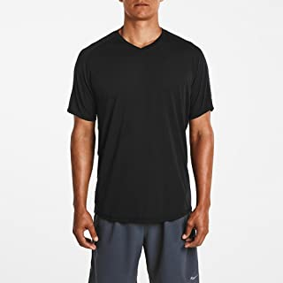 Saucony Men's Freedom V-Neck Short Sleeve Shirt