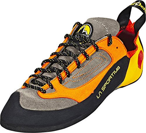 LA SPORTIVA Herren Finale Brown/Orange Kletterschuhe, 46.5 EU