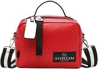 SUNyongshWomen Bags Double zipper Solid Color Hot Sale Shoulder Crossbody Bag Handbag