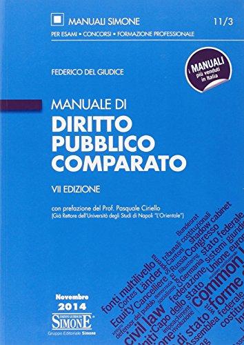 Manuale di diritto pubblico comparato