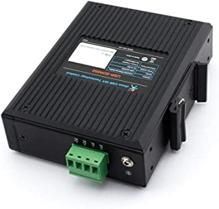 USR-SDR050-L 10/100M 5 LAN Ports Industrial Ethernet Switch Wide Voltage Natural Heat Dissipation IP40 Shell Protection