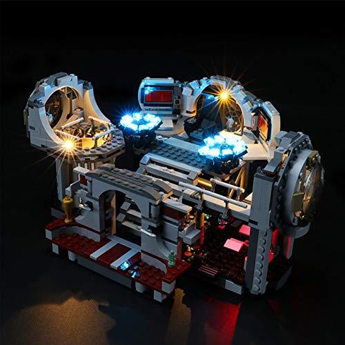 Kit de Iluminación LED para Lego 75291, Kit de Luces Compatible con Lego 75291 Star Wars Duelo Final Estrella de la Muerte (No Incluye Modelo Lego)