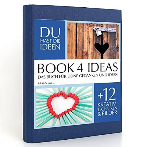 BOOK 4 IDEAS classic   Ich liebe dich, Eintragbuch mit Bildern