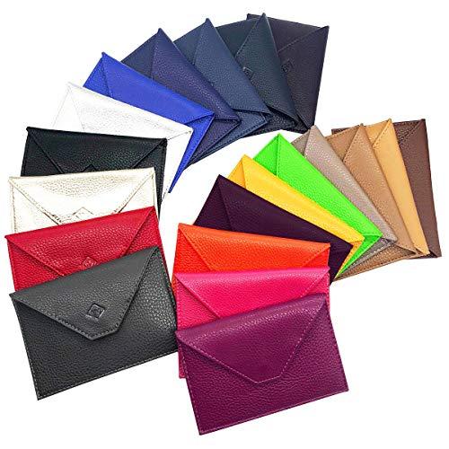 Charmoni - Lutin -porte Papiers Voiture Enveloppe Permis De Conduire Carte Grise, Rouge, Taille unique
