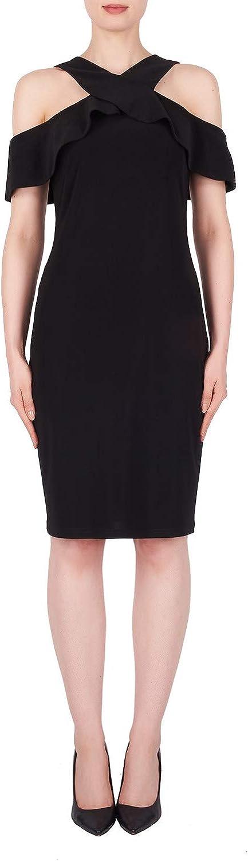 Joseph Ribkoff Black Dress Style 191015