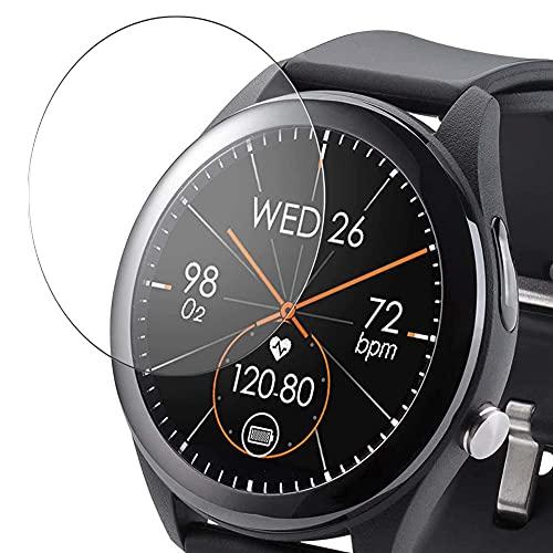 Vaxson 3 Unidades Protector de Pantalla de Cristal Templado, compatible con ASUS VivoWatch SP HC-A05 Smart Watch smartwatch, 9H Film Guard Película Protectora [No Carcasa Case ]