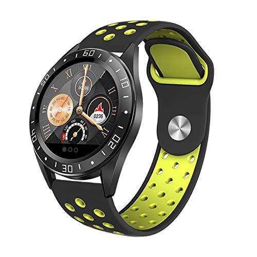 Smart Band Smart Watch,Reloj Inteligente con Modo multideportivo, monitorización de la frecuencia cardíaca y la presión Arterial Pulsera-D,Pulsera Inteligente con Pulsómetro