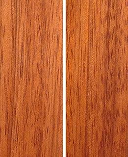 Brazillian Cherry Knife Scales - 3/8