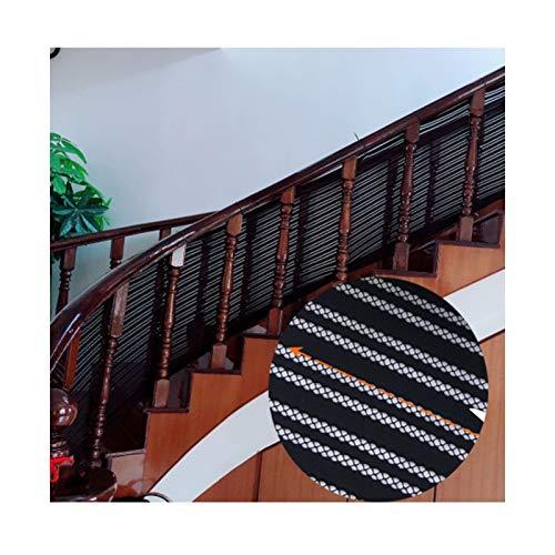 Valla De Escalera De Seguridad Balcón Patio Barandilla Escalera Red Tejido Por Urdimbre, Con Capacidad De Resistencia A La Tracción Y Al Desgarro Evita Que Se Caigan Balcones, Pasillos, Escaleras