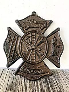 blank firefighter maltese cross