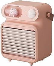 QIU Mini Air Cooler, 3-in-1 draagbare mini airconditioning, luchtkoeler en luchtbevochtiger ventilator en luchtreiniger me...