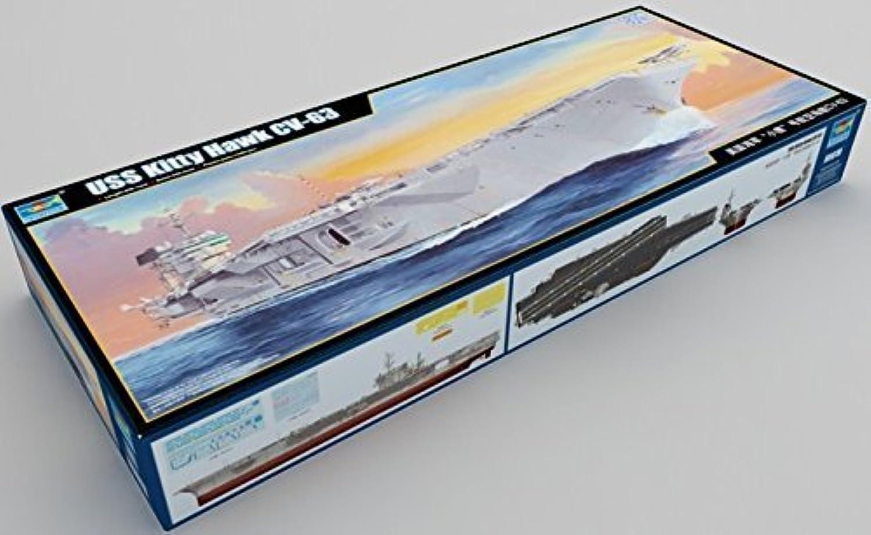 Ahorre hasta un 70% de descuento. USS Kitty Hawk 1 350 Scale Scale Scale Model by Trumpeter  envio rapido a ti