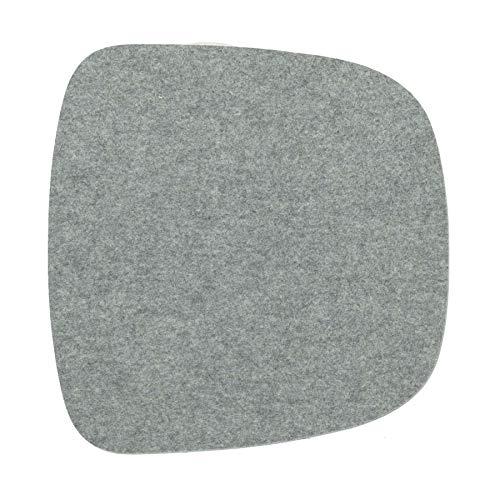 ikarus Sitzauflage 1-lagig für About A Chair AAC22 Stuhl (Silbergrau)