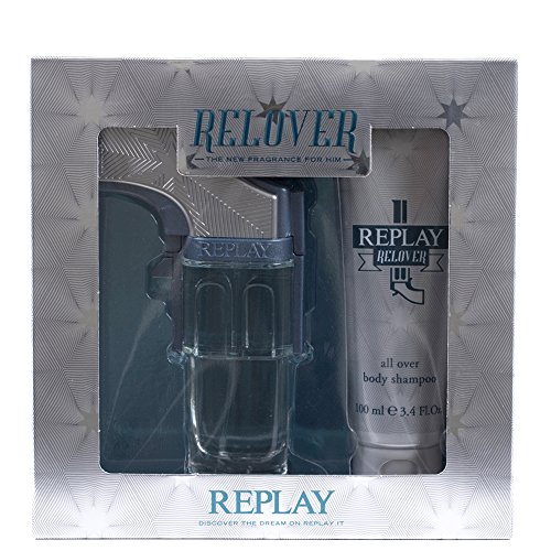 RELOVER EDT 50ML + ALL OVER BODY SHAMPOO 100ML