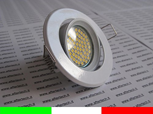 Aftertech® 60 LED inbouwspot 120° GU10 warmwit 3,5 W 220 V lamp