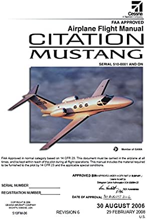 Citation Flight Manual Books