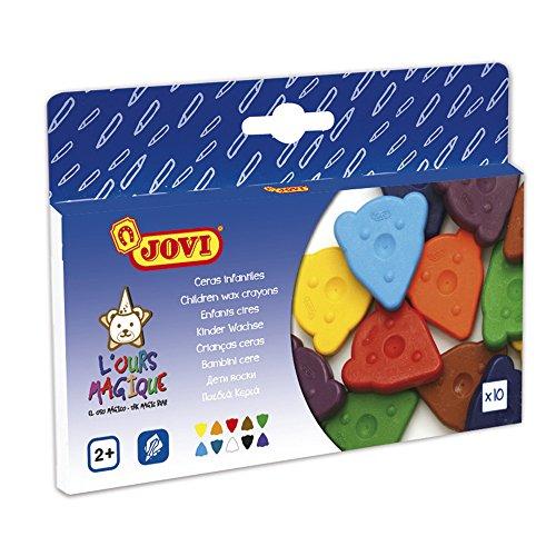 Jovi - Box of 10 Crayons - Magic Bear Design (146164)