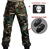 WorldShopping4U Hommes BDU Tournage Combat Pantalons Pantalon avec Genou Coussinet...