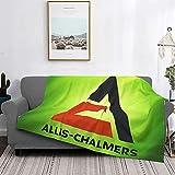 Al-Lis Chal-Mers Logo Soft and Warm Throw Blanket Fleece Blanket 60'X50'