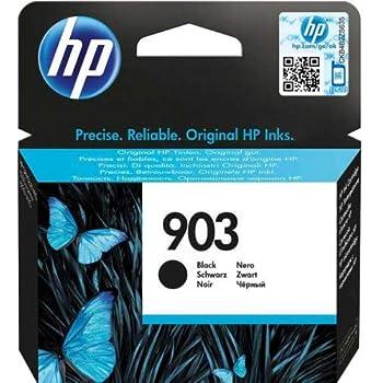 HP 903 T6L99AE Cartuccia Originale per Stampanti a Getto di Inchiostro, Compatibile con OfficeJet 6950, OfficeJet Pro 6960 e 6970, Nero