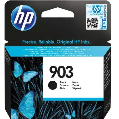 HP 903 T6L99AE Cartuccia Originale per Stampanti a Getto di Inchiostro, Compatibile con OfficeJet 6950, OfficeJet Pro 6960 e 6970, Nero