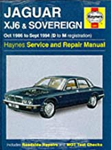 Jaguar Xj6 1986-94 Service and Repair Manual (Haynes Service and Repair Manuals)