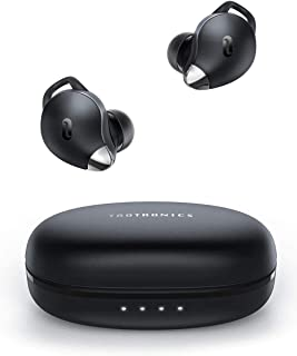 True Wireless Earbuds TaoTronics Bluetooth earphones, Smart AI Noise Reduction Technology for Clear Calls, Single/Twin Mode, USB C, IPX7 Waterproof, 30H Playtime, SoundLiberty 79