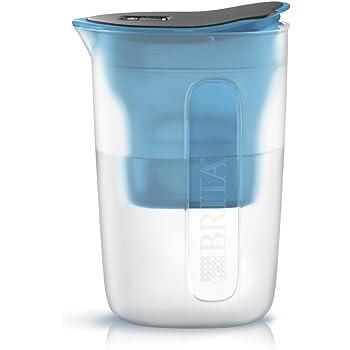 ブリタ 浄水器 ポット 浄水部容量:1.0L(全容量:1.5L) ファン ブルー マクストラプラス カートリッジ 1個付き 【日本正規品】 塩素 水垢 不純物 除去