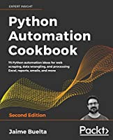 Python Automation Cookbook, 2nd Edition Front Cover