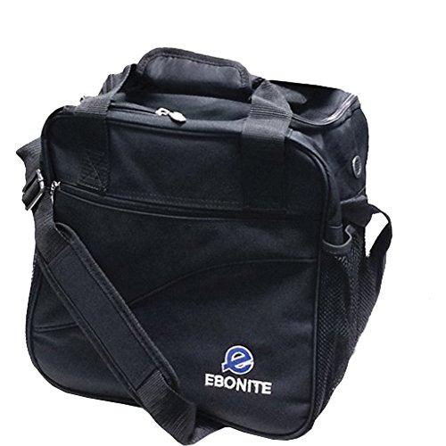 Ebonite Bowling Ball Single Ball Bag, Tasche Escort, Black