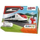 """Märklin 29335 Spielzeugeisenbahn My World 29335-Startpackung """"Schweizer Schnellzug"""", Modelleisenbahn, Startset für Kinder ab 3 Jahren, Mehrfarbig"""