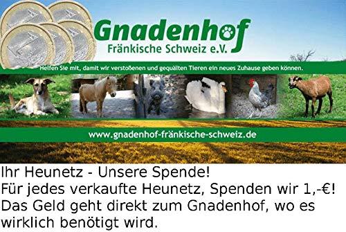 Konege Rundballenheunetz 1,4m x 1,4m x 1,6m, Mw 3,0cm, 4,0mm Kordelstärke, Heunetz - 4