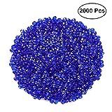 SUPVOX Diamanti Decorativi matrimonio cristalli decorativi matrimonio 4.5mm 2000 pezzi (Bl...