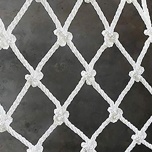 Decoratieve Mesh Trappen Veiligheidsnet Wit Hek 5cm / 2in Mesh Nylon Tuinhek Plant Klimnet