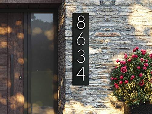 Minimal Address Number Display