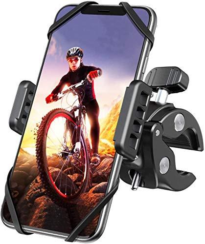 Fahrrad Handyhalterung, SUNIYORS Motorrad Fahrrad Handy Halterung mit 360° Drehung für iPhone 12/12Pro/SE 2020/Samsung S20/S10/Note10/HUAWEI Xiaomi LG usw. Handyhalter für Rennrad Mountainbike