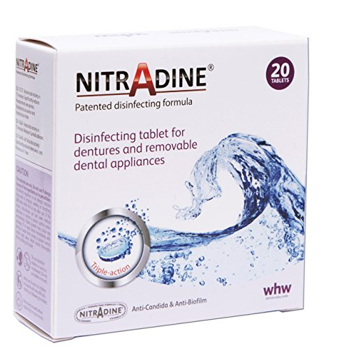 Nitradine - 20 Tablets for Clean...