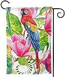 Zudrold Hausgarten Himmel wild frei Fliegender Papagei von Aquarell-Stil isolierte Dekoration Garten Flagge