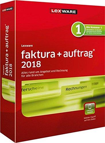 Lexware faktura+auftrag 2018 Jahresversion (365-Tage)