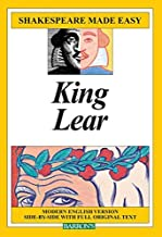 King Lear (Shakespeare Made Easy) by Shakespeare, William (1986) Paperback