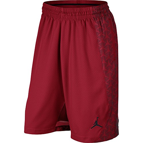 Nike Flight Woven Short, Gym Red/Black/Black, M